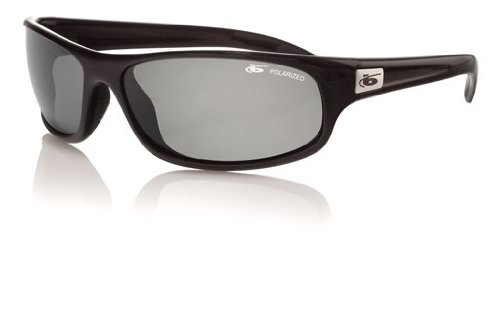 Bolle Sport Anaconda Sunglasses (Shiny Black/Polarized TNS)