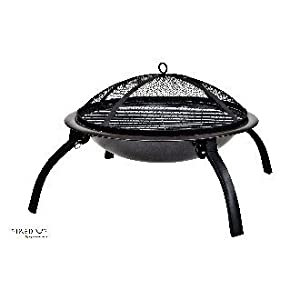 La Hacienda Firebowl BBQ With Folding Legs 58106