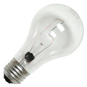 GE 97489-24 Crystal Clear General Purpose A19 Bulb, 100-Watt, 24-Pack