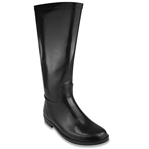 Sugar Women's Bradi Rain Boot 6 Navy (Neoprene Rain Boot Liners compare prices)