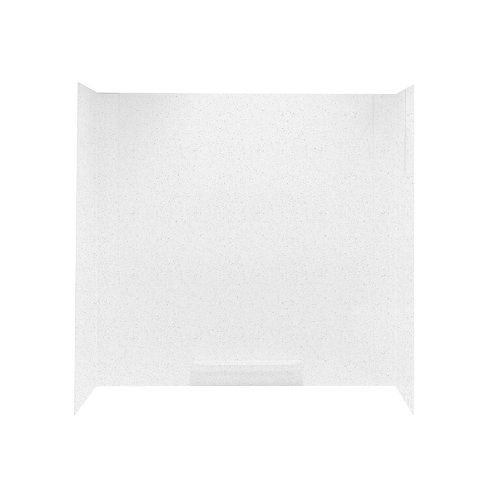 Fantastic Deal! Swanstone GN-58-010 Veritek Tub Wall Kit, White Finish