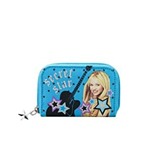 Hannah Montana Star Zip Wallet