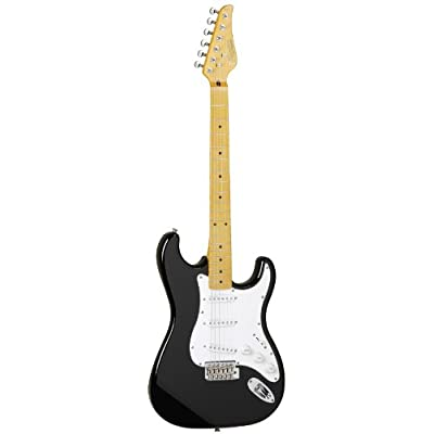 Tanglewood Double-Cut Electric Guitar with Solid Alder Body, Ebony Black finish (TSB57-EB) review