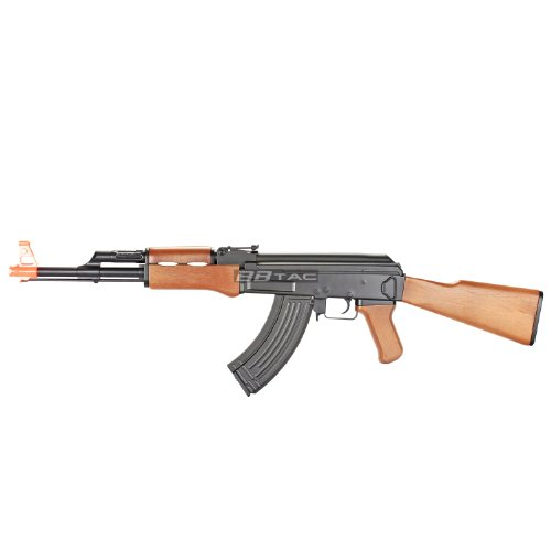 Bbtac Bt022 Ak47 Electric Airsoft Gun Fully Automatic High Capacity Magazine Airsoft Rifle Lpeg By Bbtac®