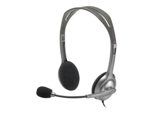 Logitech Stereo Headset H110 - Headset (Catalog Category: Telephony / Telephony)