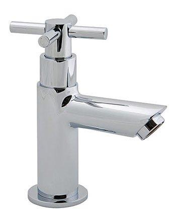 Waschtisch Armaturen Günstig U2013 Kreuzgriff Waschtischarmatur Standventil Für  Gäste WC Chrom .