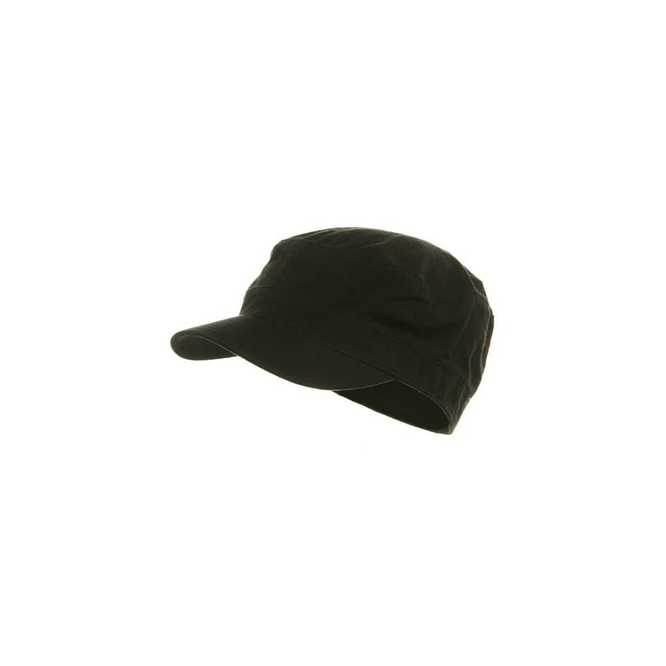95937da0 Fitted Cotton Ripstop Army Cap Black W32S31F on PopScreen