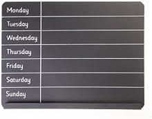 Encerado planificador semanal