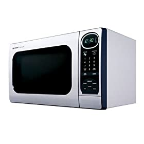 Sharp 1100-Watt Microwave - Stainless Steel (1 cu. ft.)