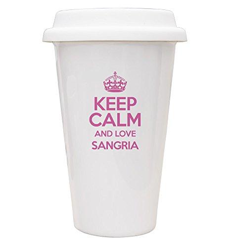 Keep Calm and Love Rose Sangria ECO Mug - 2939 TXT