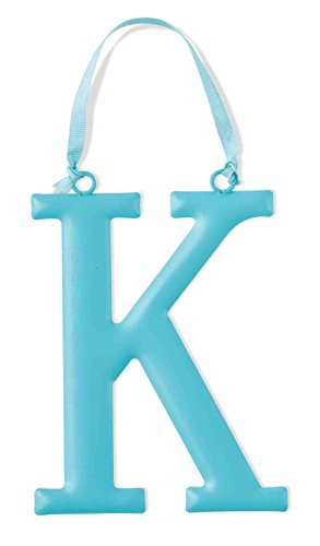 Mud Pie Metal Initial Wall Hanging, K, Large