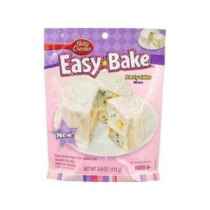 Easy Bake Betty Crocker Party Cake Mix