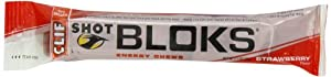 Clif Shot Bloks, Strawberry, Pack of 18
