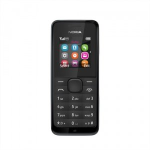 Nokia 105 Mobile Phone / Sim Free / Unlocked - Black