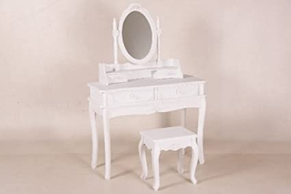 Casa Padrino vanity table shabby chic country style look Roses vanity console Baroque Antique Art Nouveau