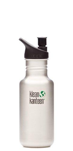 Klean Kanteen 18oz w/ Sport Cap Stainless