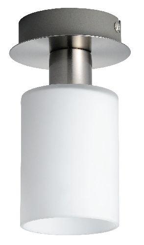 Oriva 49239 Deckenlampe, H 17 cm, B 10 cm, E14, max 40W, Satin-Optik
