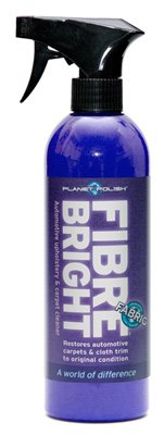 Planet Polish FibreBright Car Upholstery and Carpet Cleaner: 500ml