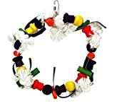 Vo-Toys Amazonia 9.5in Ring with Five Knots Bird Toy