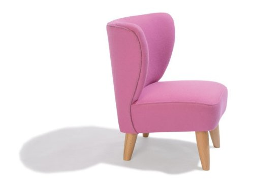 Dreams4Home Kindersessel 'Holly', B/H/T: 50x50x54 cm in Pink