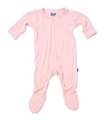 KicKee Pants Footie, Lotus, 6-12 Months