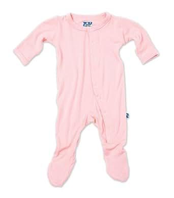KicKee Pants Footie, Lotus, Newborn