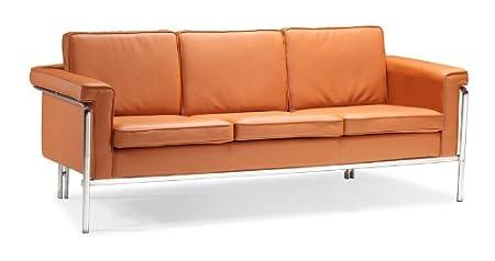 Zuo Singular Sofa, Terracota