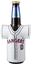 TEXAS RANGERS MLB BOTTLE JERSEY KOOZIE COOLER COOZIE