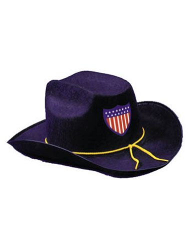 Halloween Costumes Item - Civil War Hat Economy Blue