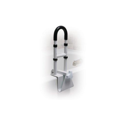 Awardpedia Drive Medical Steel Clamp On Tub Rail White