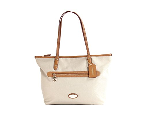 Coach Sawyer Canvas Tote