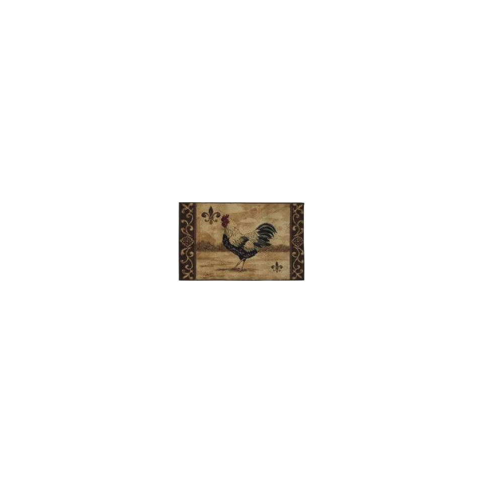 Shaw   Reflections   Maison Rooster Area Rug   26 x 42