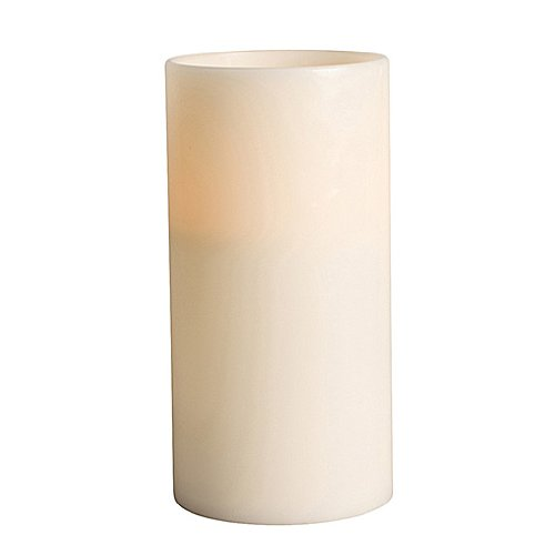 Gerson 6 by 12-Inch Grand Flameless Candle with 3 LED Wicks