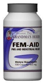 Fem Aid - Herbal Formula That Targets Womens Health - 100 Capsules