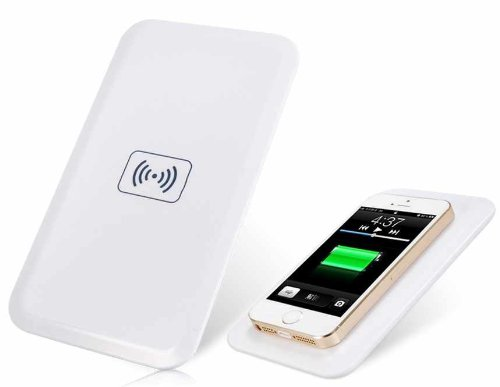 Q1 Mc-02A Wireless Charger Transmitter For Iphone/Samsung (White) Produced Bu Ysk