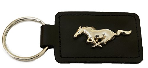 leather-ford-mustang-keyring-with-case