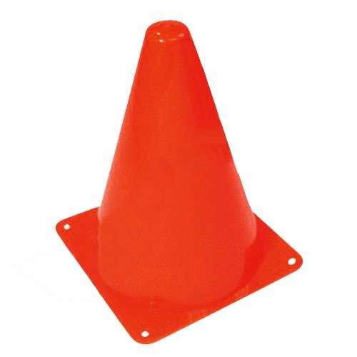 "1 X 12 ORANGE Traffic SAFETY Soccer Plastic SPORT CONES 7.5"" HIGH by happy deals - 1"