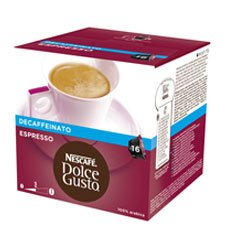 Order NESCAFE DOLCE GUSTO ESPRESSO DECAF DECAFFEINATED COFFEE PODS by Nescafe