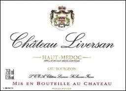 2000 Château Liversan Haut-Medoc Bordeaux Red 750 Ml