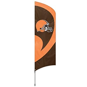 NFL Cleveland Browns Tall Team Flags by Party Animal