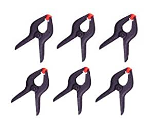 """Cheaplights 6 PCS 3.75"""" Spring Clamps"""