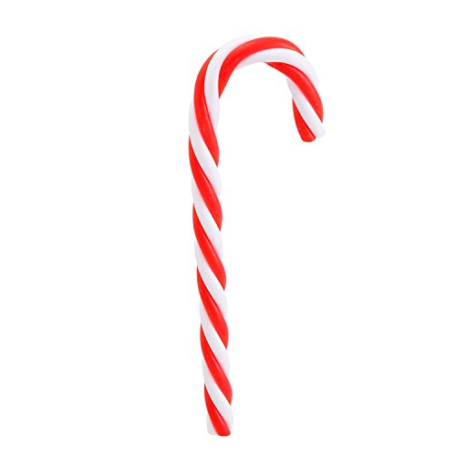 Pack of 12 Red and White Striped Candy Cane Christmas Ornaments 5.75