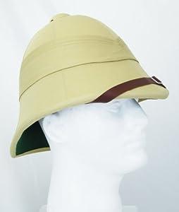 British Style Zulu Pith Helmet--Khaki