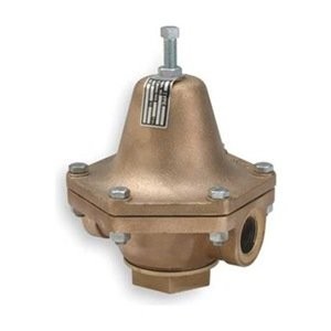 "Cash Valve 12396-0023 Bronze Pressure Regulator, 10 - 35 PSI Pressure Range, 3/4"" NPT Female"