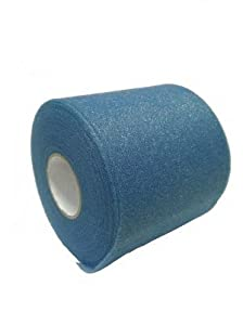 Foam Underwrap Prewrap for Athletic Tape - Big Blue (Light Royal) - 48 pack by MWRAP