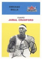 Jamal Crawford Chicago Bulls 2001 Fleer Platinum Autographed Hand Signed Trading Card... by Hall+of+Fame+Memorabilia