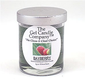 Bayberry Scented Gel Candle Votive