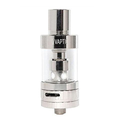VAPITO-PT1 Clearomizer set OCC : 0,20ohm (Farbe: Silber) mit einstellbarer Luftstrom (ohne Nikotin, ohne Tabak)