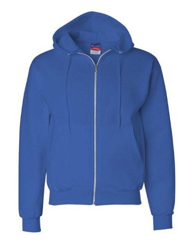Champion Eco� 9 oz.; 50/50 Full-Zip Hood - ROYAL BLUE - S