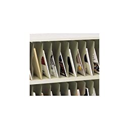 Vertical Shelf for Sorters Color: Putty